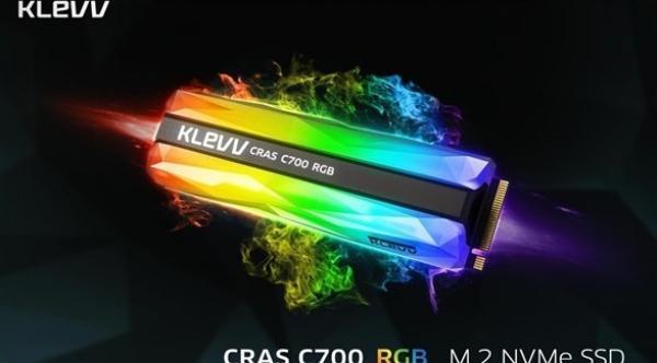 قرص حالة ساكنة جديد مزود بإضاءة RGB