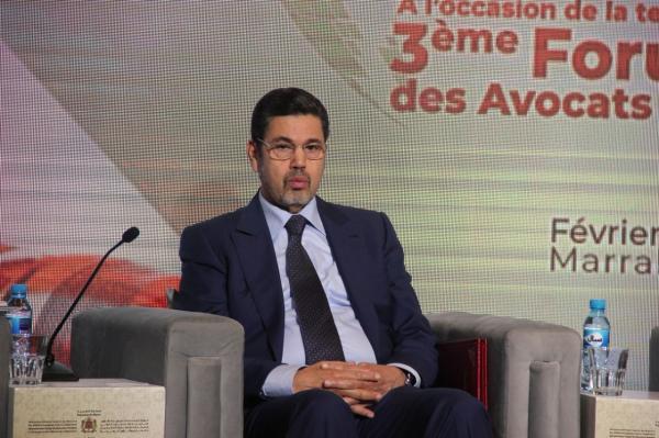 """""""عبد النباوي"""" يُؤكد من مراكش: 14 سنة مدة كافية لتقييم مدونة الأسرة (فيديو)"""