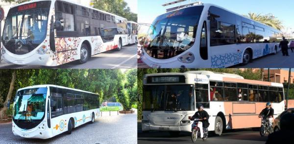 """حافلات من الجيل الجديد تدخل الرباط و""""سيتي باص"""" الفاعل الوطني يستعد لإنهاء أزمة النقل الحضري"""