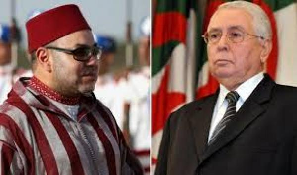 بمناسبة فوز المنتخب الجزائري بالكان..الملك محمد السادس يبعث رسالة تهنئة إلى عبد القادر بن صالح وهذا ما جاء فيها