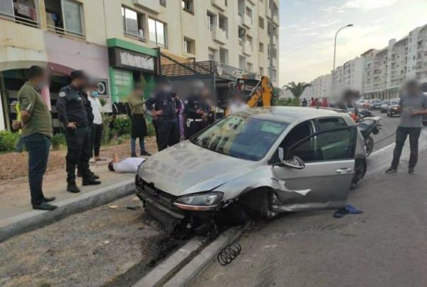 بعد الاعتداء على شرطي بسيف..مجهولان يتسببان في حادثة مثيرة خلال محاولتهما الفرار بأكادير