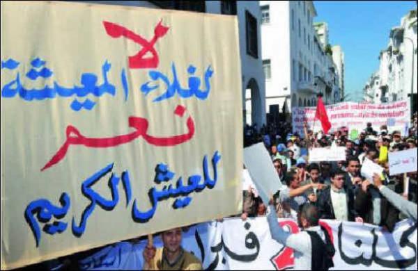 تقرير دولي يحذر من وقوع اضطرابات في المغرب بسبب الغلاء
