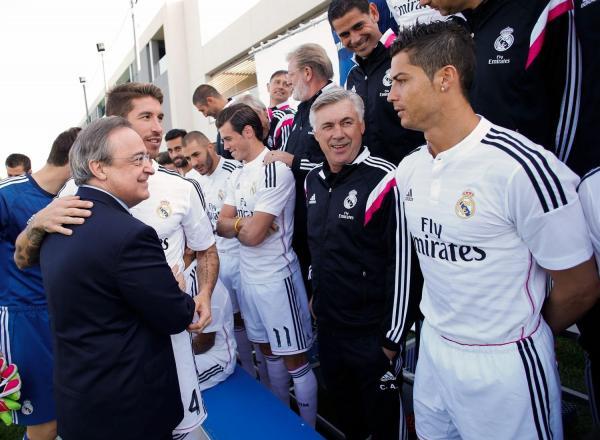 تسريبات جديدة لرئيس ريال مدريد .. نعت رونالدو ومورينيو بأوصاف مهينة!