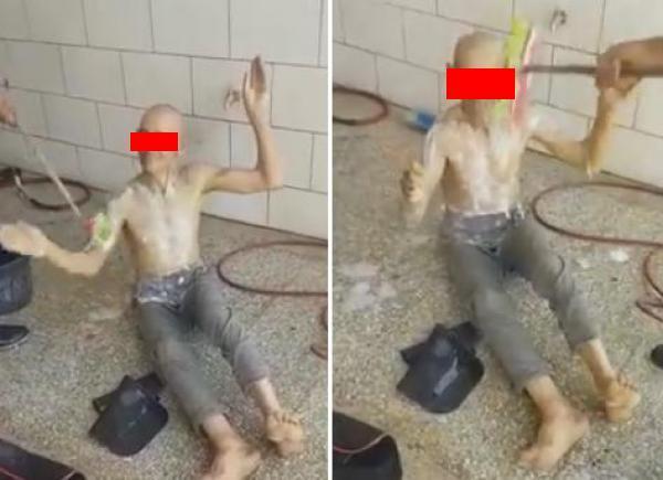 """تحميم متشرد ب""""الشطابا وصابون غسل السيارات"""" يثير الغضب على الفايسبوك (فيديو)"""