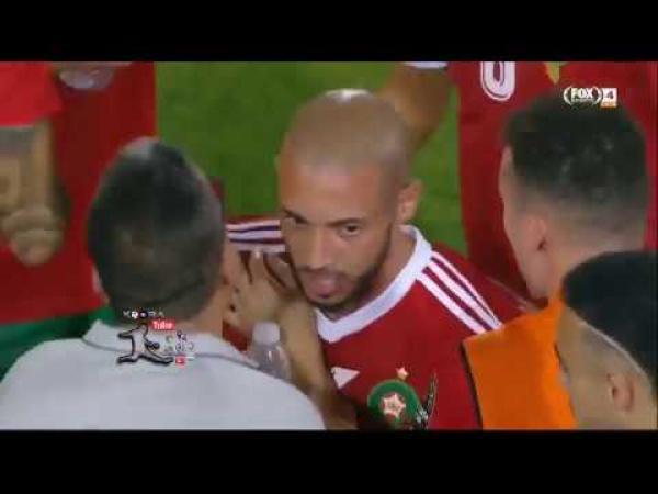 هدف المغرب الأول الرائع في مرمى كوت ديفوار (يوسف النصيري)