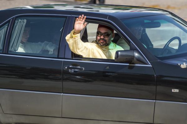 """الملك """"محمد السادس"""" يحل بالصويرة في زيارة رسمية وهذا أول ما فعله عند وصوله"""