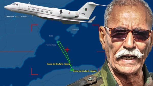 صحيفة: هكذا أحبط المغرب مخطط إخراج زعيم البوليساريو من إسبانيا على متن طائرة تابعة للرئاسة الجزائرية