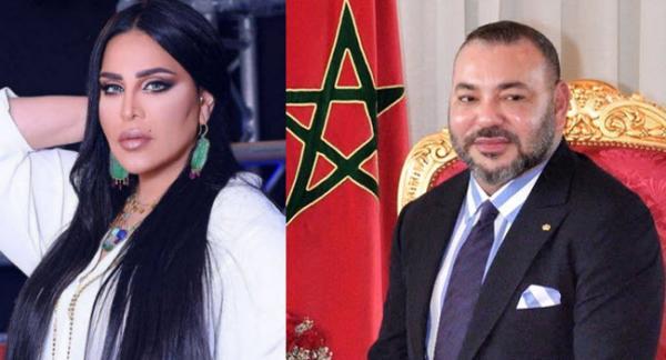 """""""أحلام"""" تبعث رسالة خاصة إلى الملك """"محمد السادس"""""""