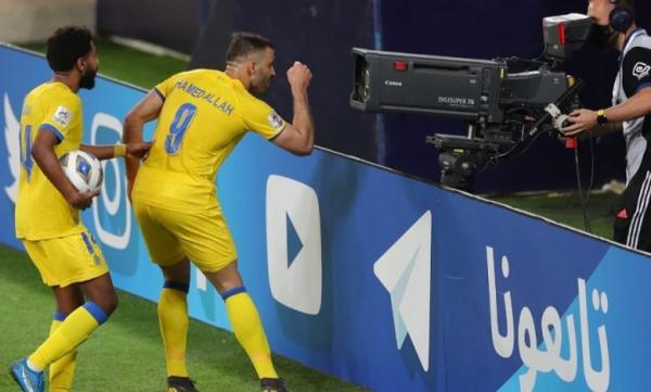 حمد الله يقود النصر لفوز مثير بالدوري السعودي