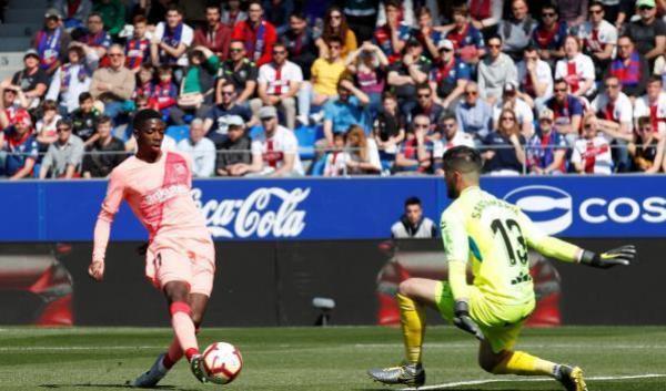 برشلونة في غياب نجومه يتعثر أمام صاحب المركز الأخير