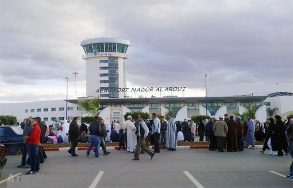 أزيد من 274 ألف مسافر استعملوا مطار الناظور-العروي ما بين 15 يونيو و31 غشت