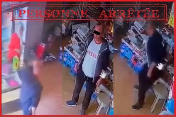 الأمن بالناظور يتفاعل مع فيديو سرقة هاتفين من محل تسيره سيدة ويعتقل الفاعل