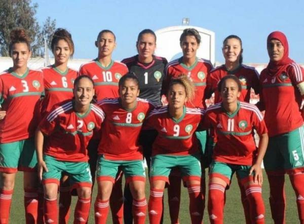 المنتخب المغربي النسوي يفوز على نظيره المصري بخماسية