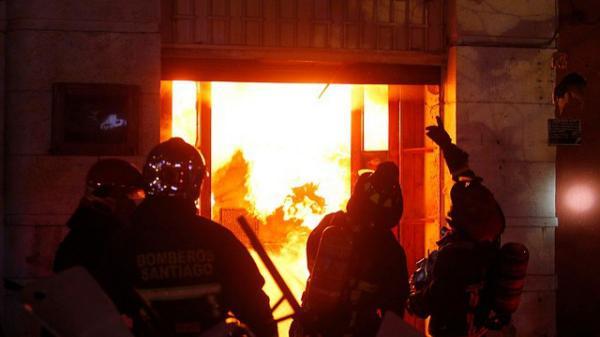 تفجير محل تجاري وفيلا في ملكية مغربي باسبانيا وتحقيقات في أسباب الحادث!