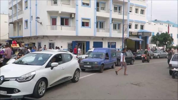 اعتقال شخص من داخل محطة الطاكسيات بالفنيدق وها علاش! (صورة)