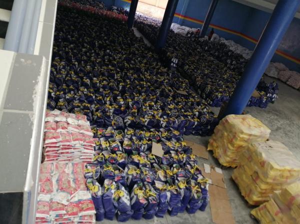 إقليم بني ملال... مواصلة توزيع مساعدات غذائية على الأسر المعوزة المتضررة من الحجر الصحي