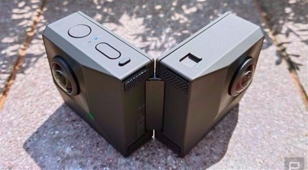 إنستا 360 تطلق أول كاميرا قابلة للطي