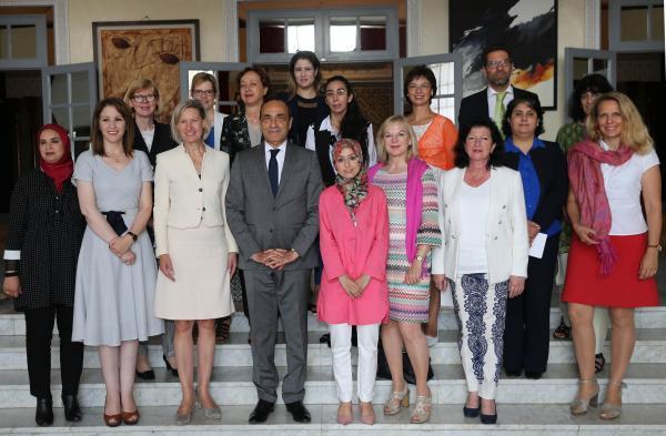 وفد من البرلمانيات والسياسيات الألمانيات يشيد بإصلاحات جلالة الملك من أجل تعزيز دور المرأة
