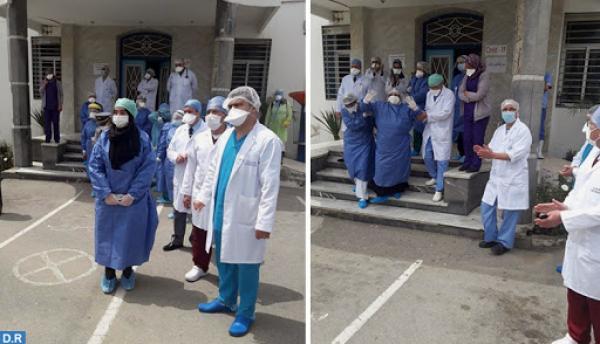 """توزيع الحالات الخمس الجديدة المصابة بفيروس """"كرورونا"""" حسب الجهة الشمالية"""