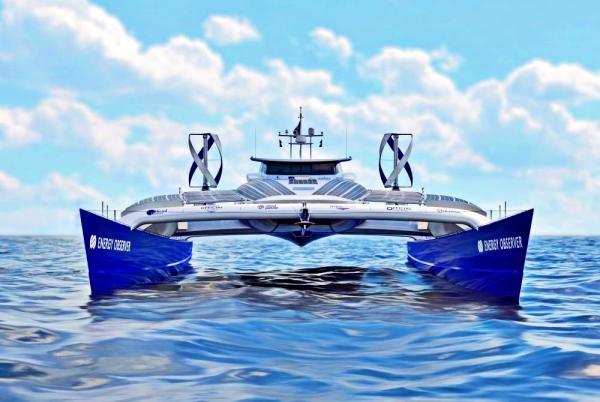 إنيرجي أوبزرفر ..أول سفينة هيدروجينية في العالم ترسو بطنجة