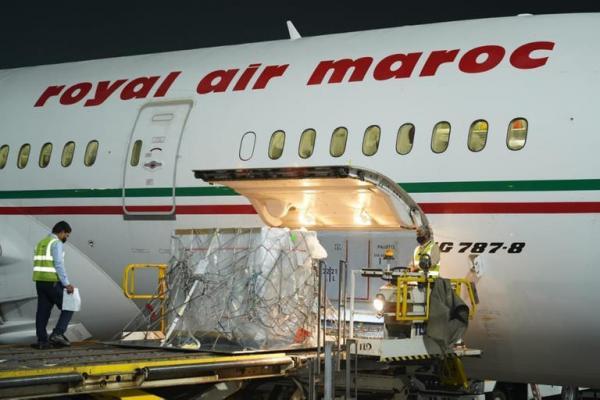 خبر سار...طائرة محملة بدفعة أخرى من لقاحات كورونا في طريقها إلى المغرب