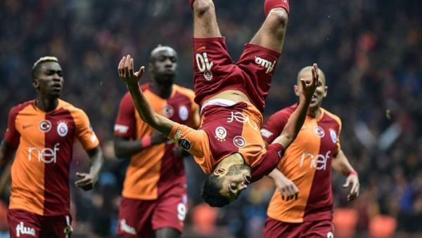 بلهندة يزأر بثنائية في قمة الدوري التركي (فيديو)