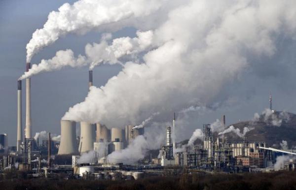 انبعاثات الغازات الصينية تقفز بنسبة 50% بين 2005 و2014