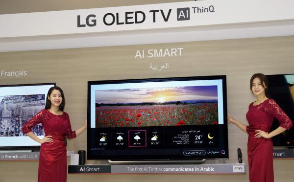 نمو سوق تلفزيونات أوليد بـ 10 مرات على مدار السنوات العشر القادمة