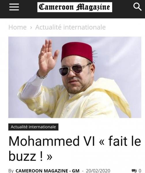 """الملك """"محمد السادس"""" يصنع الحدث بإفريقيا بعد الالتفاتة الرائعة تجاه الطفل """"يحيى"""""""
