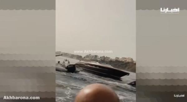 """فيديو الملك """"محمد السادس"""" بساحل سبتة يثير ضجة بالثغر المحتل"""