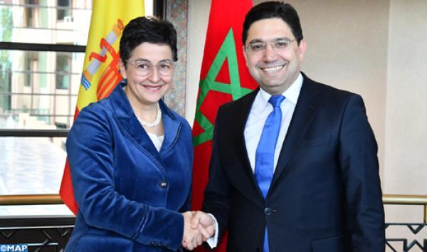 وزيرة الخارجية الإسبانية: المغرب له الحق في تحديد مجاله البحري