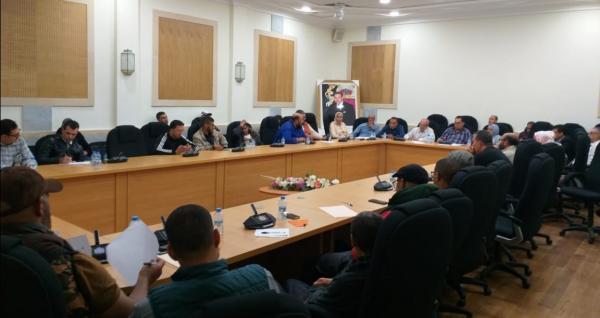 إنفراد: فوضى بمجلس مقاطعة مراكش المدينة وتعبئة المجتمع المدني في مواجهة شركة للنظافة