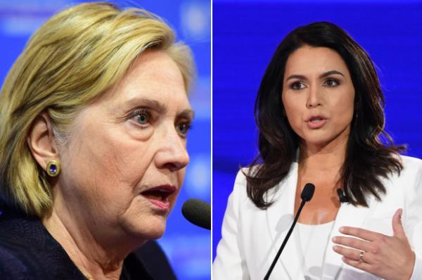 """في خرجة مثيرة:المرشحة الأمريكية للرئاسيات """"تولسي كابارد"""" تتهم """"هيلاري كلينتون"""" بالفساد وتصفها بملكة دعاة الحرب"""