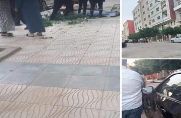 """صورة """"سيلفي"""" تتسبب في سقوط شابة من الطابق الرابع بحي القدس بوجدة"""
