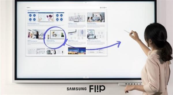سامسونغ تطرح الجيل الجديد من تلفزيون Flip