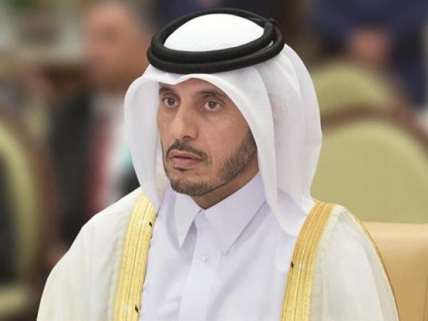 الملك يقيم مأدبة عشاء على شرف رئيس مجلس الوزراء، وزير الداخلية القطري