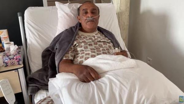 """إصابة الفنان المغربي """"سعيد الناصيري"""" وأسرته الصغيرة بفيروس كورونا(فيديو)"""