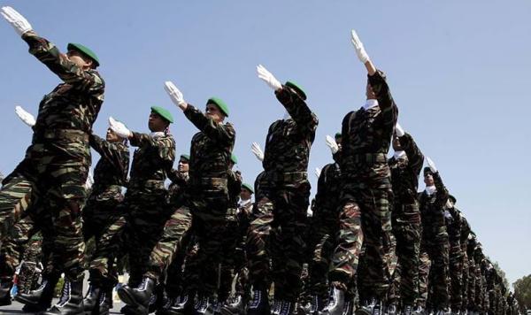 تجريدة تابعة للقوات المسلحة الملكية تحل بالعاصمة المكسيكية