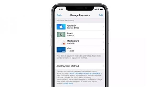 أبل تبدأ قبول Apple Pay وسيلةً للدفع في خدماتها الرقمية