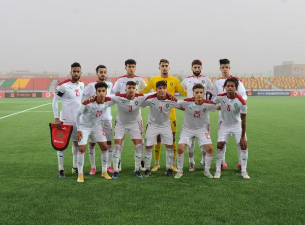المنتخب المغربي يفوز على نظيره الغامبي في أمم أفريقيا بموريتانيا(فيديو)