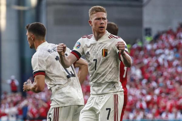 بلجيكا تتأهل إلى الدور الثاني بالفوز أمام الدنمارك