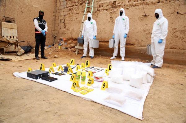 بالصور: هذه هي المحجوزات التي ضبطت مع الخلية الإرهابية الخطيرة ضواحي مراكش
