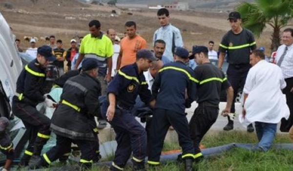 15 قتيلا و1832 جريحا في حوادث السير بالمناطق الحضرية خلال الأسبوع من 6 إلى 12 نونبر الجاري