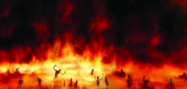 صفة النار في القرآن الكريم