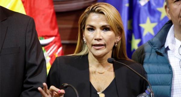 واشنطن تعترف بخيانين آنيث رئيسة انتقالية لبوليفيا