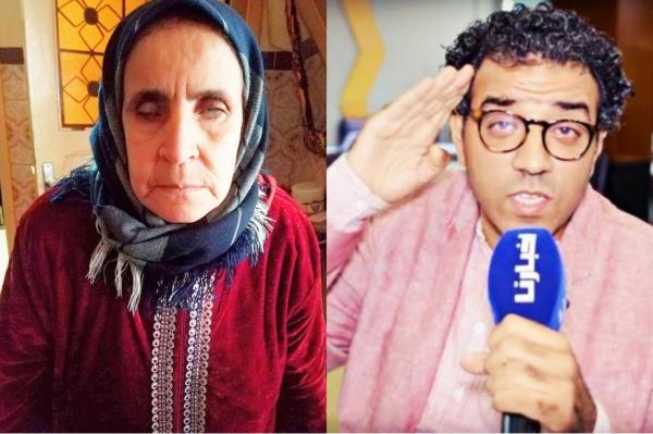 """في مبادرة إنسانية: """"العشابي"""" يحقق حلم عجوز ضريرة من خلال """"تحدٍ"""" شارك فيه آلاف المغاربة (فيديو)"""