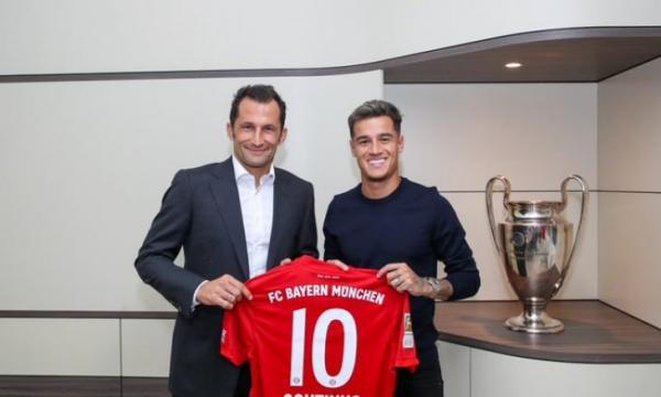 رسميا...كوتينيو يغادر برشلونة ويوقع لبايرن ميونخ
