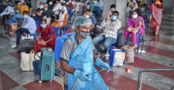 الهند : تسجيل 7466 إصابة جديدة بفيروس كورونا خلال ال24 ساعة الماضية