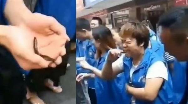 بالفيديو ..شركة تجبر موظفيها على تناول الأسماك الحية وشرب دم الدجاج، عقاباً على فشلهم