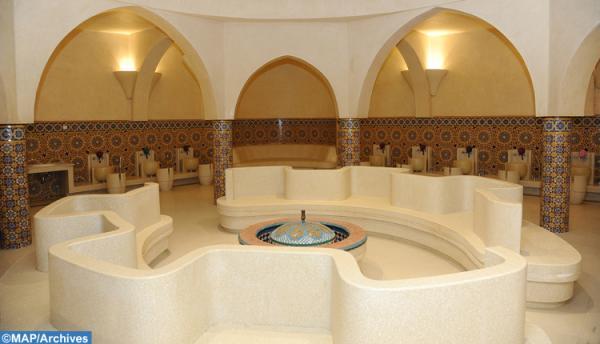 حمامات مسجد الحسن الثاني تستقبل مجددا زبناءها